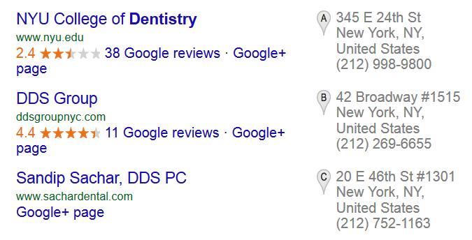 Local Searches