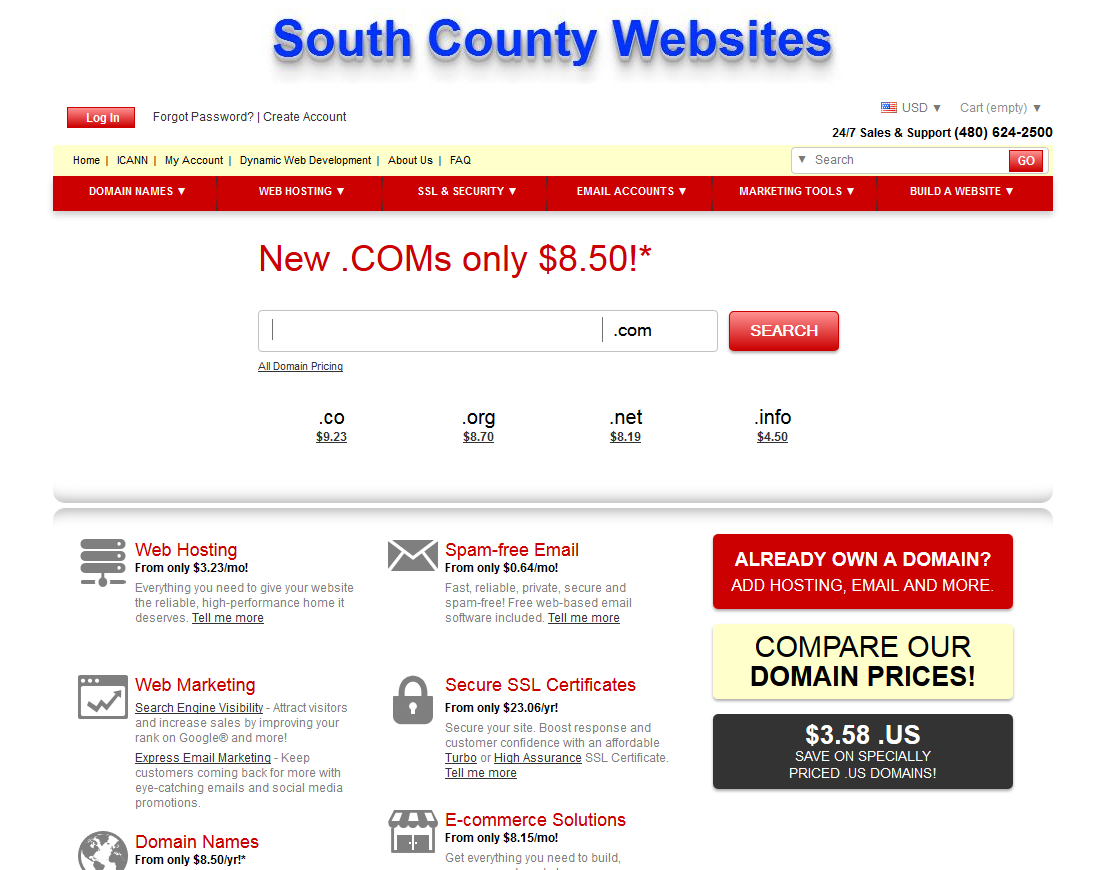 South County Websites
