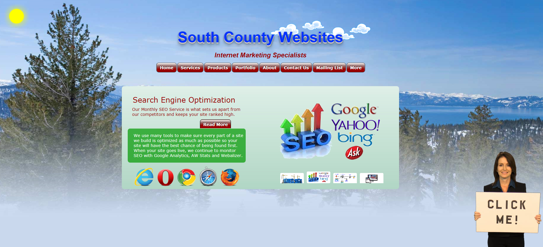 South County Websites Home Slider