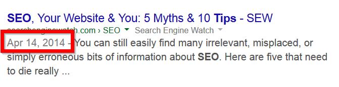 Google resultsw