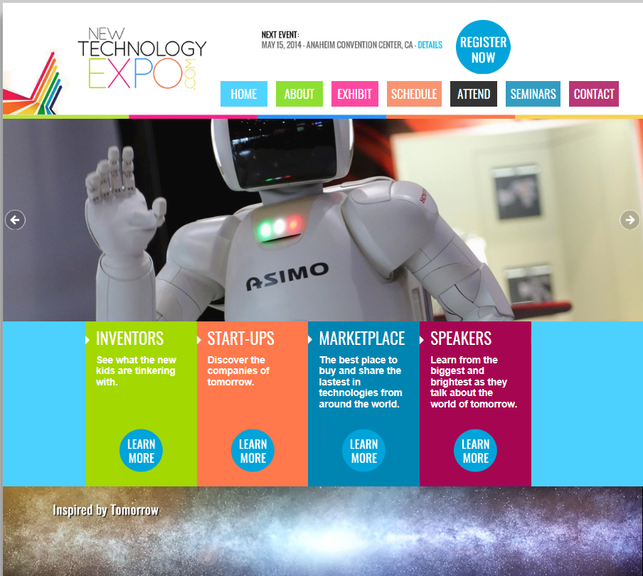 New Technology Expo Home Page