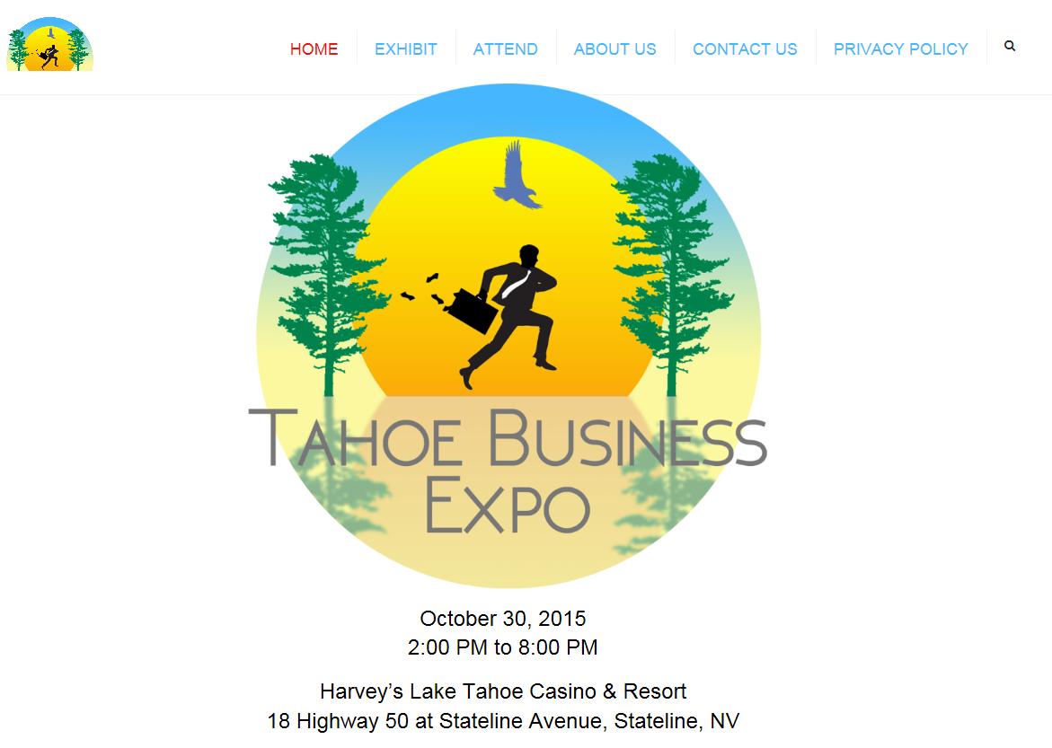 Tahoe Business Expo Home