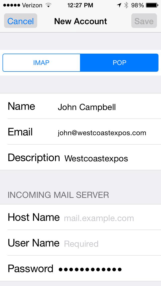 Email Setup 6