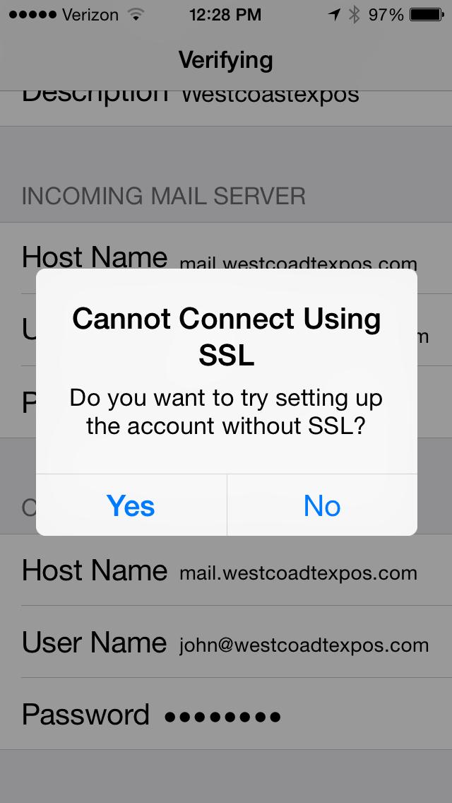 Email Setup 7