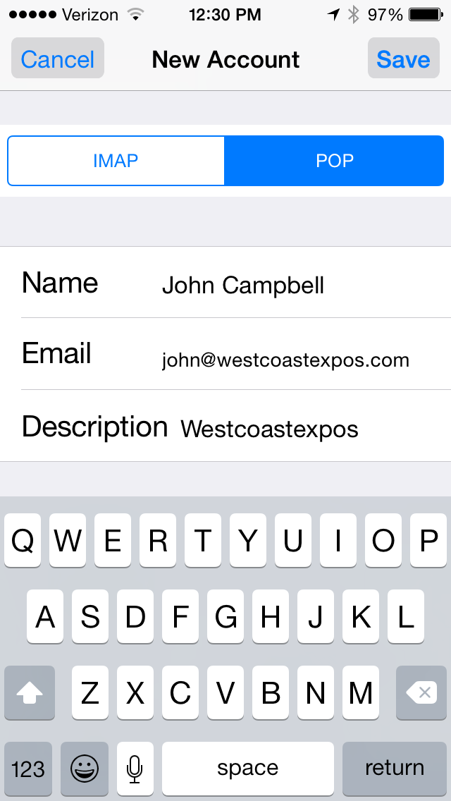 Email Setup 8