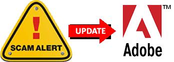 Adobe Logo Scam Alert