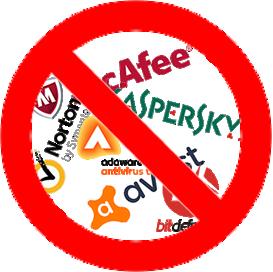 Anti Virus Sofware No