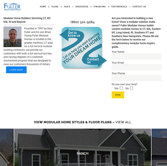 fuller Modular Homes