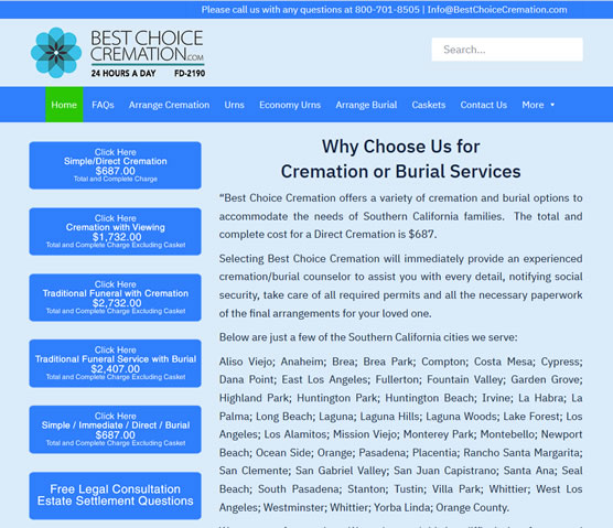 Best Choice Cremation